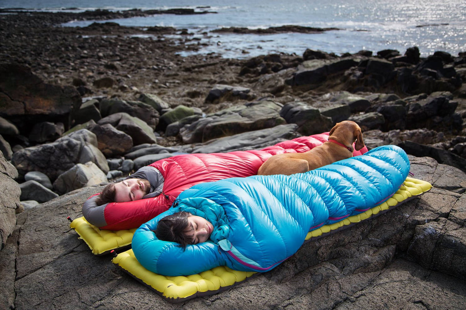 men and women sleeping bags