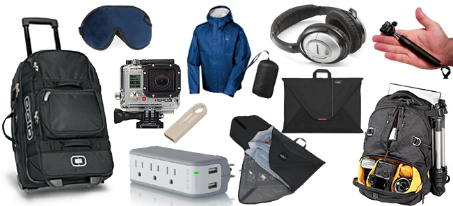 The outdoor Travel gears