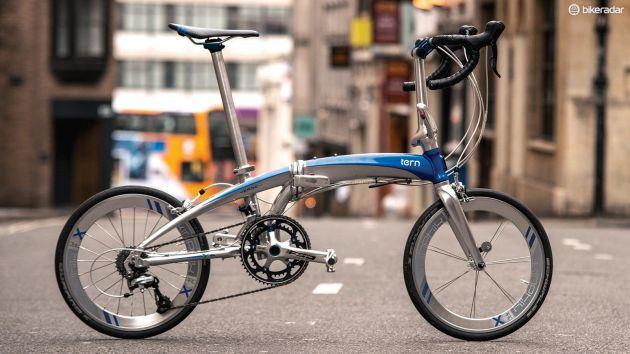cool folding bike
